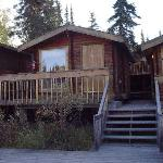 Riverfront cabins