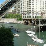 Chicago River & Drawbridge