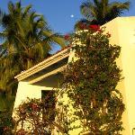 Sunset on the Villa