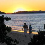 A Romantic Sunset Stroll