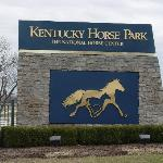 Entrance to Kentucky Horse Park