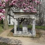 The grave of President James  K. Polk