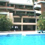 Main Pool by restaurant at Hotel Playa Mazatlan