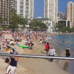beach area outside of hotel