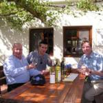 Tasting the lovely wines of Tishbi Estate