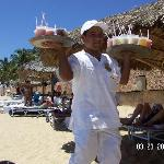 Beach Drinks service