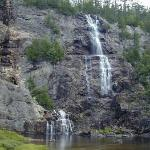 Bridal Veil Falls at the park.