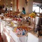 """Top of The Mark"" breakfast buffet"