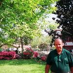 Yours truly in Southern Elegance's garden