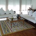 Comfy lounge!