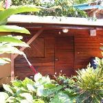 cabin with private bath ($27/night)