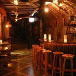 hotel's bar  (its so cozy!)