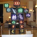 Lobby TV Hotel