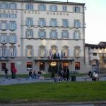 Front view from across the piazza