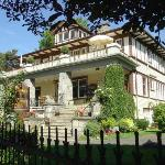 The beautiful Abbeymoore Manor in Victoria - a long, long way from Maggie Valley NC!
