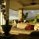 Late afternoon in the living room
