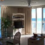 living area of condo
