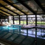 hojo's indoor heated pool
