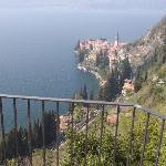 View of Varenna from Bellagio room!