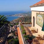 Villa Ducale looking towards Gardini Naxos