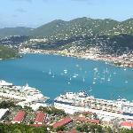 Cruise ship dock at Charlotte Amalie