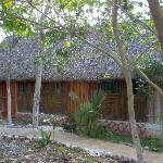 The Cabins in the local paja style
