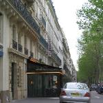 Exterior of Hotel Prince