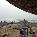 occidental own beach area