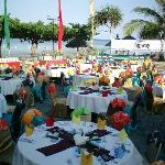 Buffet Dinner on the Beach