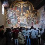 Inside the Oratory of San Giovanni Battista