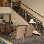 Lobby at Best Western Liberty Inn