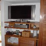 plasma TV screen