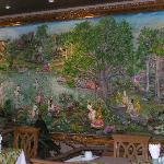 Tile Mural in Breakfast Room