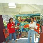 Pic with artist in Todos Santos