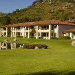 Villa overlooking golf course