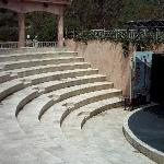 The amphitheatre this is where the entertainment is held