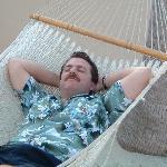 hammocks on beach( aaahhhh)