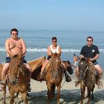 horseback on beach $35 for all 3