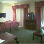 One half of standard king room