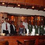 The Lounge bar and its superb staff