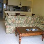Living area from lanai door