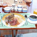 fillet staek breakfasts at bab al yams