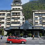 The Victoria-Jungfrau Hotel