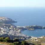 Overlooking Agia Pelagia