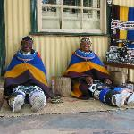 Zulu Ladies Doing Traditional Bead Work