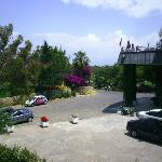 veiw from our room