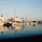 El kantaoui marina adjacent to the Hannibal Palace Hotel,