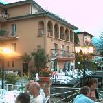 Hotel Sirena taken from Hotel Malcesine/ferry terminal