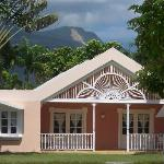 Bungalow and View of Mountains.