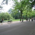 Ride A Bike In The Park